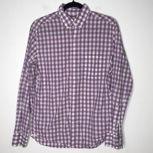 J. Crew Mens Light Weight Shirt Button Down Shirt